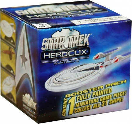 Miniature Heroclix (Wizkids HeroClix - Star Trek Tactics - Series 2 Gravity Feed Display Box)