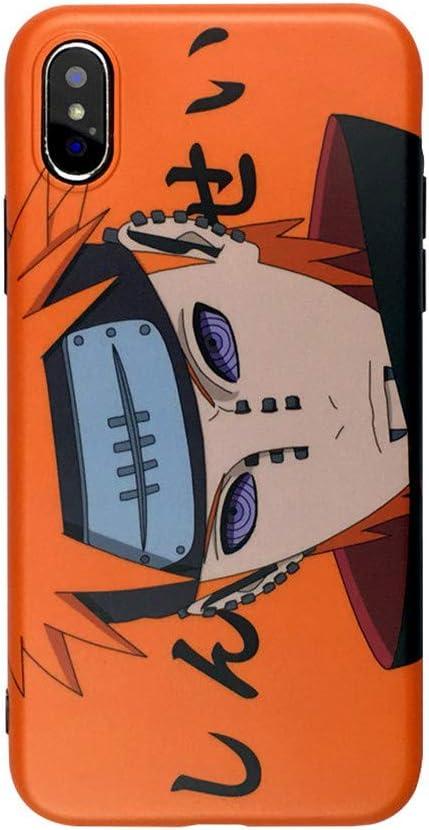 Amazon.com: for iPhone 8 Plus Case 7 Plus Cover, Japan Anime Cartoon Uzumaki Naruto Pain Ninja Case Slim Silicone Soft Phone Case Back Cover for iPhone 11 Pro Xs Max (Pain, for iPhone 7 Plus/8 Plus)