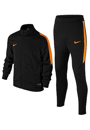 a9a5692ee7 Nike Rev Knt Tracksuit BLACK BLACK TOTAL ORANGE TOTAL Size S  Amazon ...