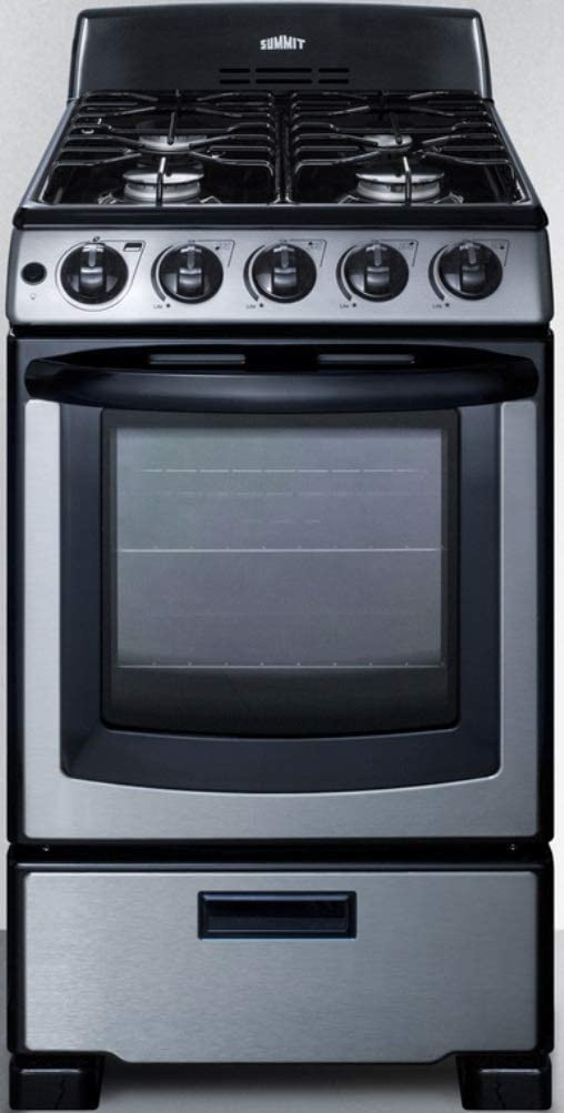 Summit Appliance PRO201SS gas range under 1000