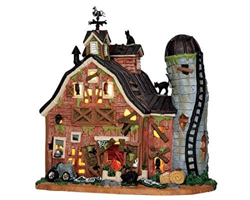 Lemax Spooky Town Dilapidated Barn # 55916]()