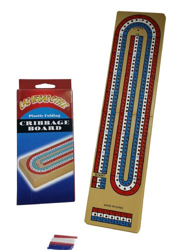 12 Portable Travel Cribbage Boards w Compartment Pegs