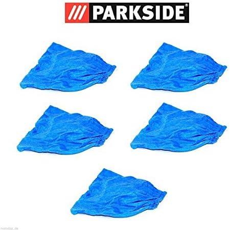 Parkside PNTS 1300 C3 Lidl IAN 270424 - Filtros de tela para aspiradora en seco y húmedo (5 unidades), color azul: Amazon.es: Bricolaje y herramientas