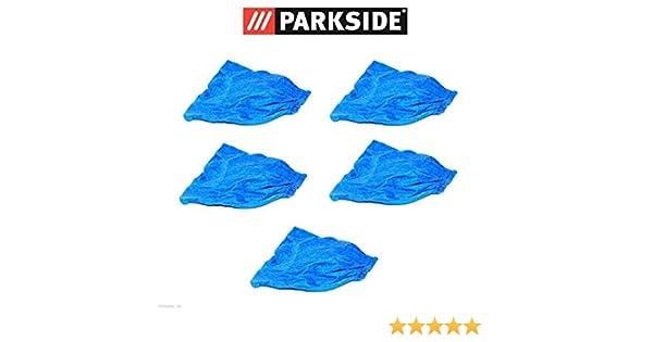 5 x filtro de tela seco y filtro, bolsa de tela azul, Parkside ...