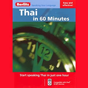 Thai...In 60 Minutes Audiobook