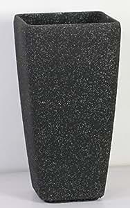 Velas largas estonelita alto~cuadrado negro arena~40 cm x 40 cm x 76 cm alto