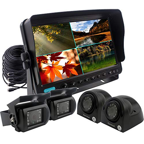 - CAMSLEAD Vehicle Backup Camera Monitor System 9