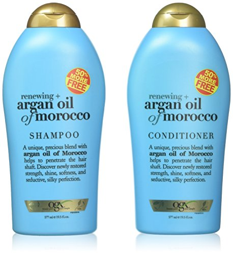 OGX Organix Argan Oil of Morocco Shampoo & Conditioner Set (19.5 Oz -
