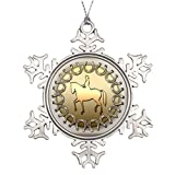 Moc Moc Tree Decorating Ideas Dressage Horse Rider and Horseshoes Unusual Christmas Trees Christmas Ball Snowflake Ornaments