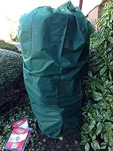 Paquete de SM y 2x l (2x) protección contra heladas para jardín, calentar Plant forro polar