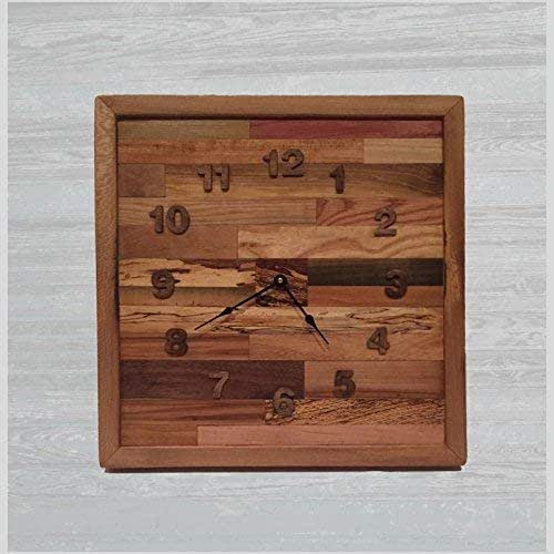 Amazon.com: Reclaimed Handmade Wood Rustic Square Pattern