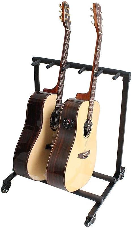 Soporte para guitarra, plegable y movible, soporte para guitarra ...