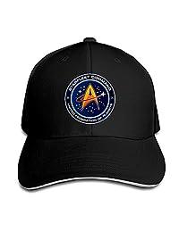 MASTER Star Trek Fiction Federal World Snapback Hats / Baseball Hats / Peaked Cap