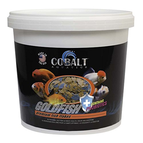 Goldfish Aquatic Food - Cobalt Aquatics Goldfish Flake, 16 oz