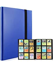 9-Pocket Trading Cards Binder Album Standard Size,Compatible with Pokémon Cards, 20-Page Hold up to 360 Cards(Blue)
