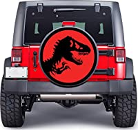 Jurassic Park Dinosaur Full Color Spare Tire Cover Decal, Wheel Cover gc1510