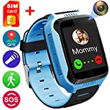 GreaSmart Smart Watch for Girls Boys - GPS Locator Pedometer Fitness Tracker Touch