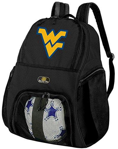 West Virginia University SoccerバックパックまたはWVUバレーボールバッグ