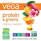 Vega Protein & Greens, Tropical, 1.3 lb, 19 Servings