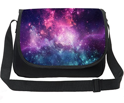 - CARBEEN Canvas Printing Universe Space TrendyMax Galaxy Pattern Shoulder Bag (Stars 9)