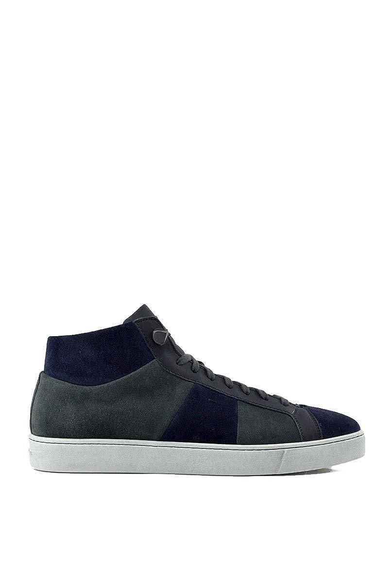SANTONI Uomo scarpe scarpe scarpe da ginnastica in Camoscio 7d1b26
