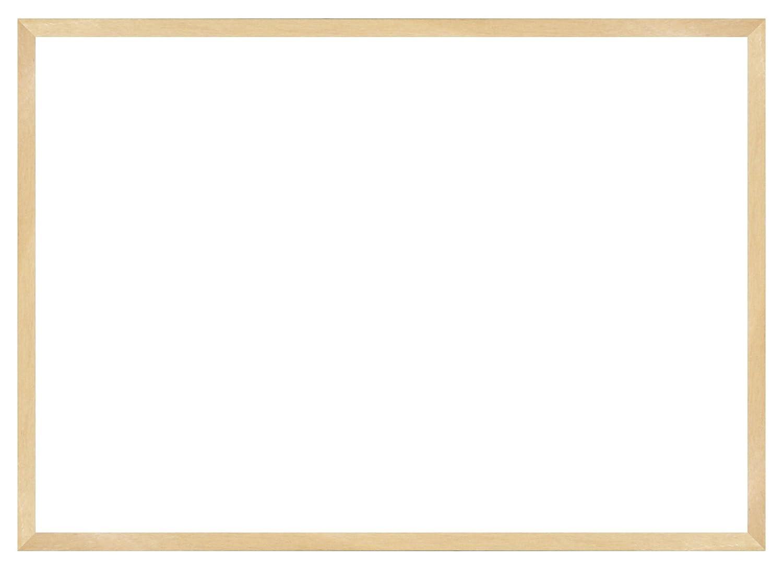 デッサン額、桜平型 木地 B2 729×516 アクリル 受注生産 B01FCWL5AE 58×79×3.5cm|クリーム クリーム 58×79×3.5cm