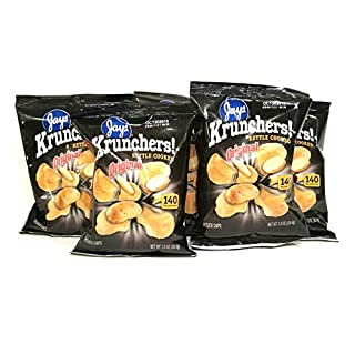 JAY'S KRUNCHERS Kettle Cooked Original Potato Chips 5 Pack 1 oz bags