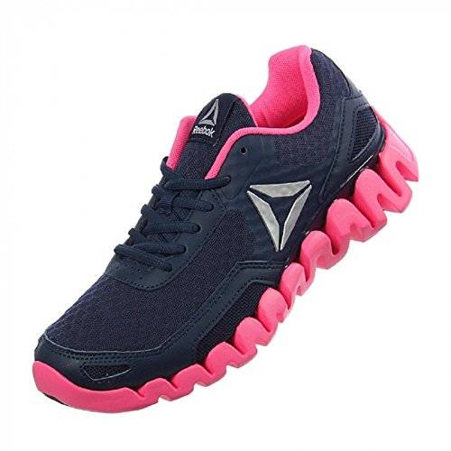 Reebok Zigevolution Womens Running Shoes Coll Navy/Pink/Silver perfect cheap price wholesale price online jmTTyTI
