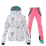 WEIYYY-Sci-Tuta-da-Sci-da-Donna-Inverno-Caldo-Giacche-da-Snowboard-e-Pantaloni-Set-Tuta-da-Neve-Antivento-Impermeabile-per-Sport-allAria-Aperta