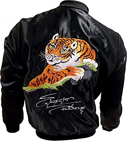 Sylvester Stallone Signed Rocky Ii Tiger Jacket At Amazons