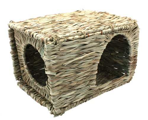 Happy Pet Grassy Small Animal Hideaway Large