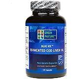 Green Pasture Fermented Cod Liver Oil (120 Veg Capsules)