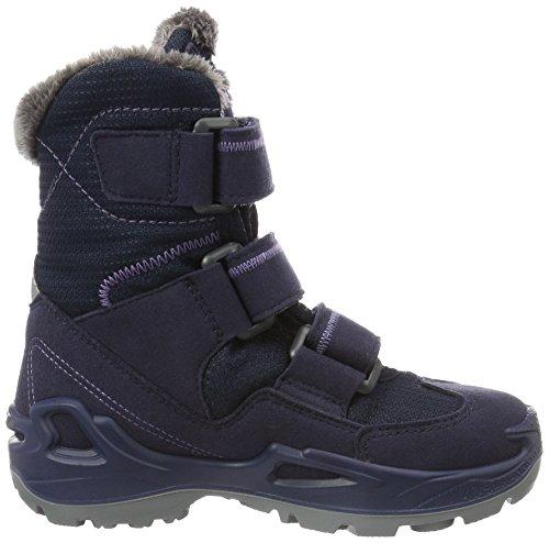 Lowa Milo Gtx Hi, Zapatillas de Senderismo Unisex Niños Azul (Navy/lila_navy/lilac)