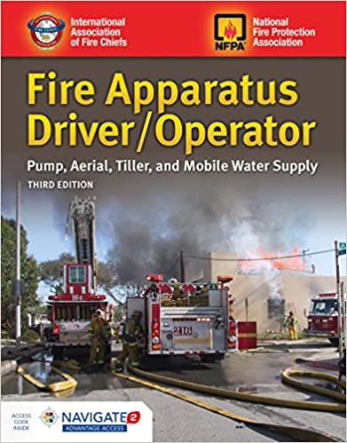 Fire Apparatus Driver Operator Pump Aerial Tiller And