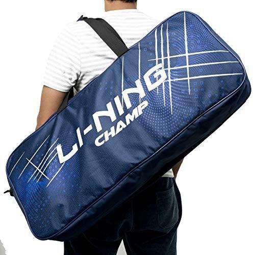 Li-Ning ABDP-374 Champ 6 in 1 Badminton Kitbag – with Additional Shoe Bag Price & Reviews