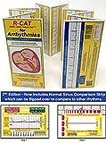 R-Cat 692782109 EKG Badge with Arrhythmia Pocket Booklet