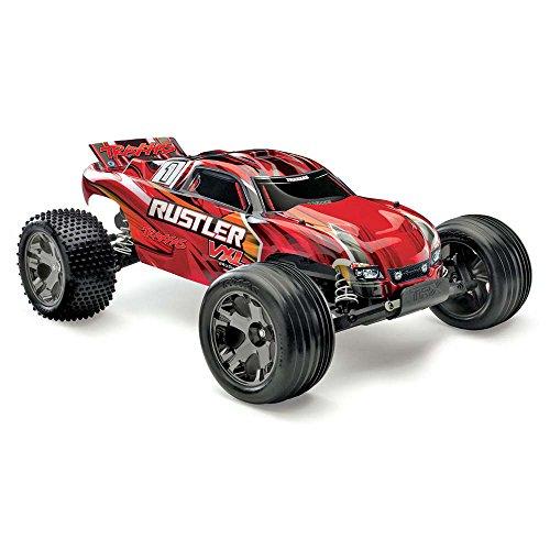 Traxxas 37076-3 Rustler VXL 1/10 Scale Brushless 2WD Stadium Truck (Extreme Sport Brushless Motor)