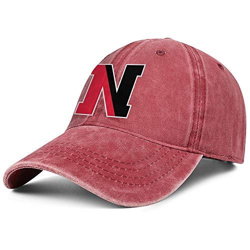 Men Women Northeastern-University-N- Baseball Cap Hat - Classic Adjustable Sports Cowboy Hat Red (Northeastern University Hat)