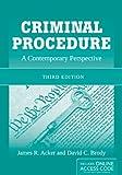 Criminal Procedure, James R. Acker and David C. Brody, 1449652344