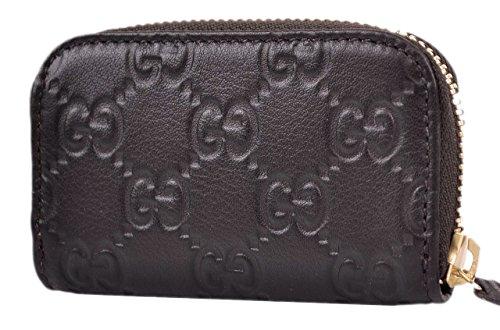 3ab82ec9da3 Gucci Women  39 s Brown Leather GG Guccissima Mini Zip Coin Purse - Buy GUCCI  Guccissima Zip Around Coin Purse Wallet Dark Brown 126320