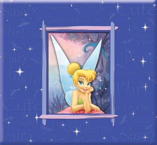 Sandylion 12-Inch by 12-Inch Disney Tinker Bell Bo by Ed Scrapbook Album