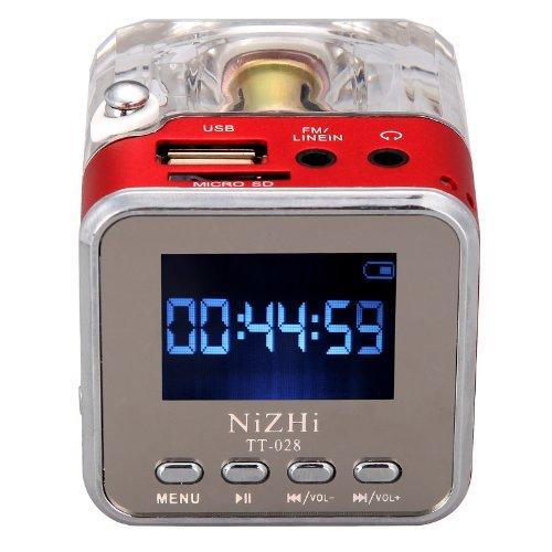 204 opinioni per Andoer Mini Digital Altoparlante Portatile di Musica MP3/4 PlayerUSB Disk FM