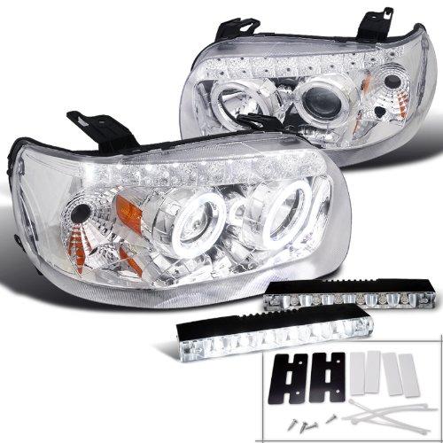 Escape Chrome Projector Headlights Bumper