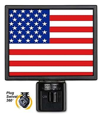 American Flag Night Light
