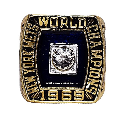 NEW YORK METS (Donn Clendenon) 1969 WORLD SERIES CHAMPIONS (Miracle Mets) Rare & Collectible High-Quality Replica Baseball Championship Ring