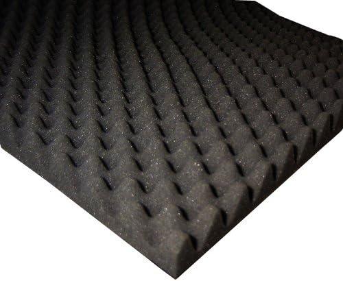 mousse insonorisante Mousse acoustique carr/ée lisse 50 x 50 x 4 cm GMP Tech Beauty of Sound panneaux acoustiques