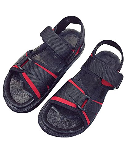 MengFan レディース スポーツサンダル 厚底 コンフォート 夏 サンダル フラット マジックテープ 履きやすい カジュアル 厚底サンダル 歩きやすい 痛くない おしゃれ 韓国風
