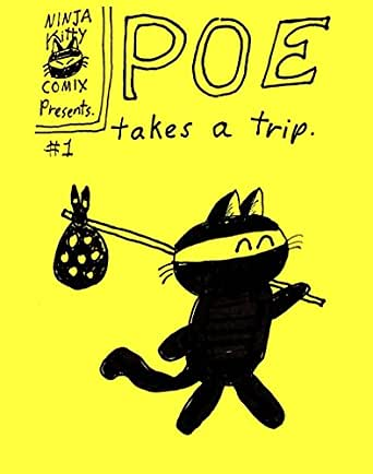 Poe Takes A Trip (Ninja Kitty Comics Book 1) (English ...