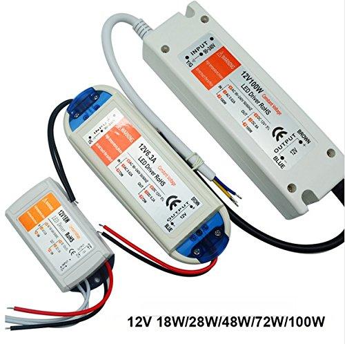 LED Vorschaltgerät Trafo 100W Netzteil Adapter Transformator 100-240V AC 12V 12V 12V DC B07BMJJNCW Lichterketten 688db6