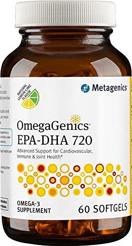 Metagenics OmegaGenics EPA DHA Lemon Lime Softgels